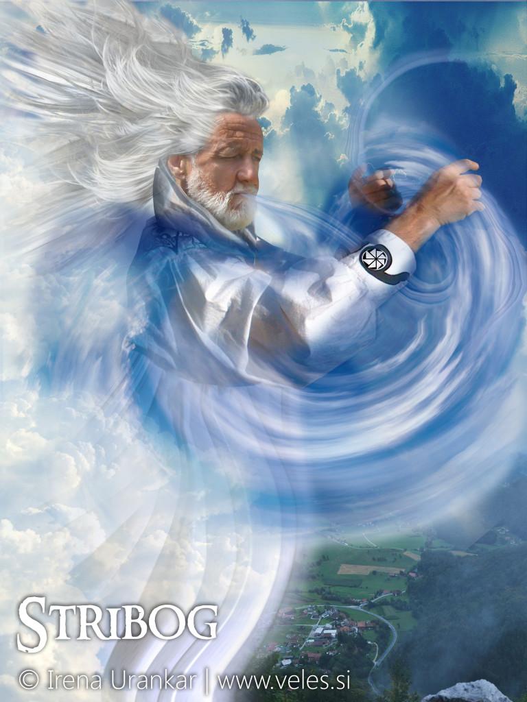 STRIBOG god of winds