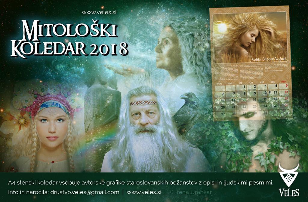 mitoloski koledar reklama 2018